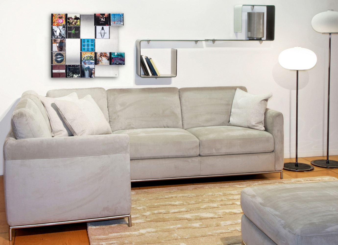 Cd wandbild als dekorative wohnidee nur bei cd wall - Dekorative wohnidee ...