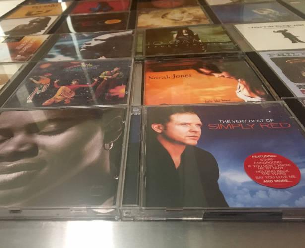 Das außergewöhnliche CD Wandregal von CD-Wall
