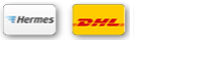 Our parcel service is with Hermes, small parts with DHL