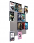 Mobile Preview: The picture shows our Blu-ray Wall5x4 wall shelf