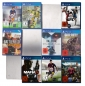 Preview: he picture shows the front view of a CD-Wall4x3 with 12 PS4 games fitted