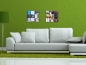 Preview: The picture shows our CD Wall3x3 wall mounted in the living room on the sofa