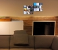 Mobile Preview: The picture shows two of our CD shelves on the wall mounted flat screen TV