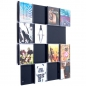 Mobile Preview: Das Bild zeigt unsere CD-Wand CD-Wall4x4 in schwarzgrau