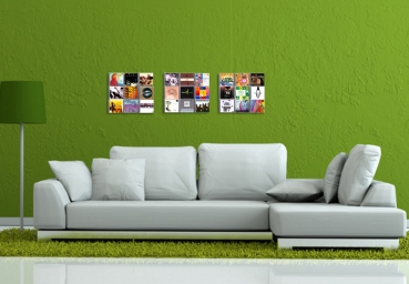 Unser 3er Set CD-Wall3x3