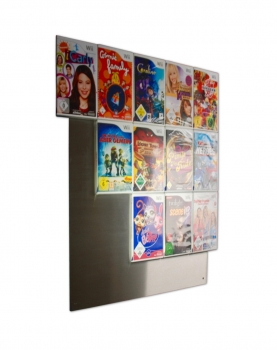 The picture shows our CD-Wall5x4 wall shelf for Wii game cover