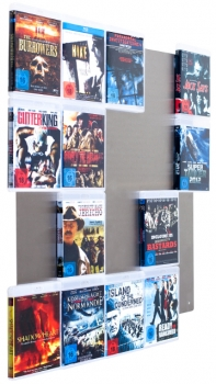 BluRay-Wall5x4 - 2.Wahl - Blu-ray Wandregal