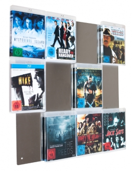 BluRay-Wall 4x3 Blu-ray Wandregal