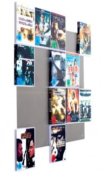 DVD-Wall 5x4 DVD wall shelf - 2nd choice
