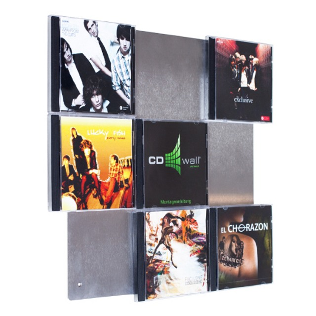 cd wall3x3 more than just a cd rack with our cd wall. Black Bedroom Furniture Sets. Home Design Ideas