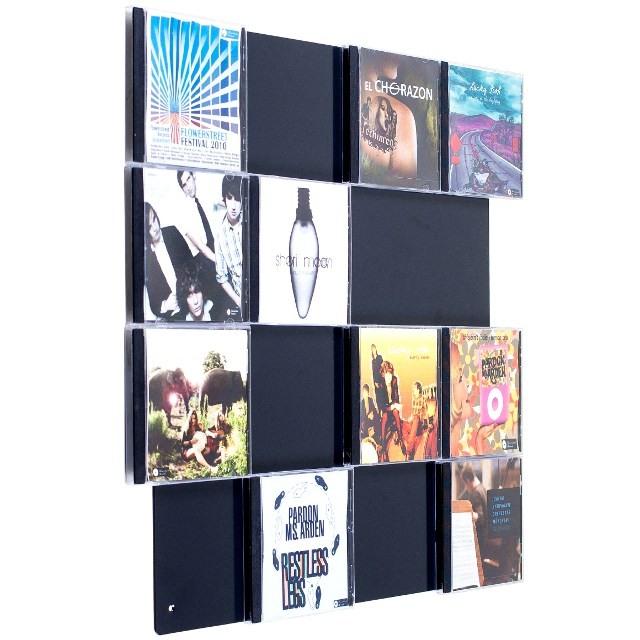 unsere cd wall4x4 mehr als nur ein cd regal mit unserer cd wand verzaubern sie ihre wohn. Black Bedroom Furniture Sets. Home Design Ideas