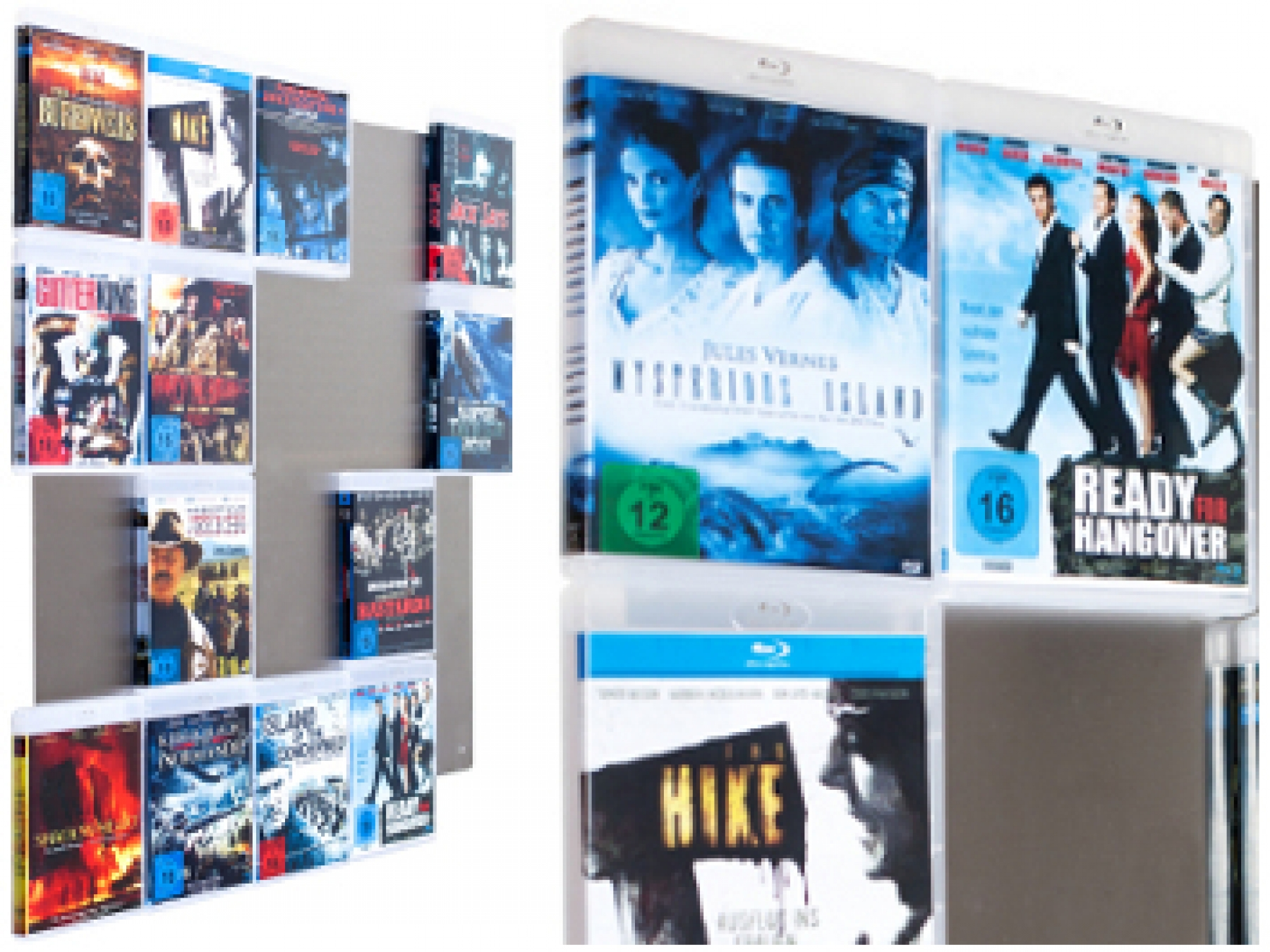 cd wall mehr als nur ein blu ray regal zaubern sie sich ein eigenes heimkino mit einem blu. Black Bedroom Furniture Sets. Home Design Ideas