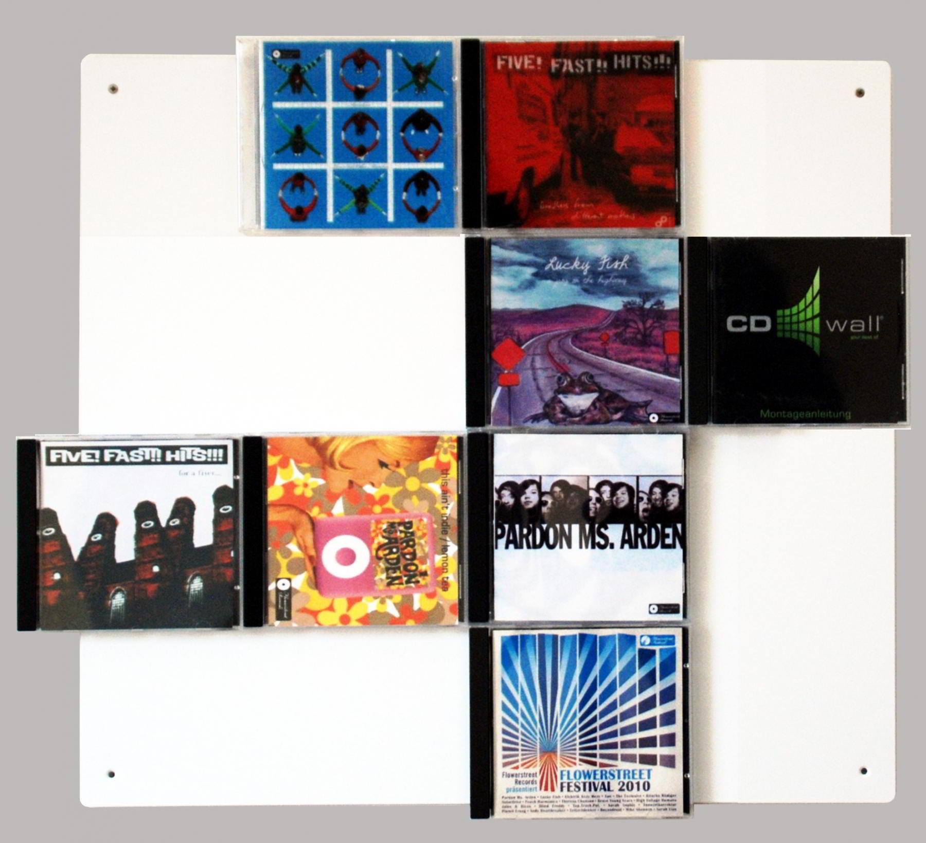 unsere cd wall4x4 mehr als nur ein cd regal mit unserer. Black Bedroom Furniture Sets. Home Design Ideas