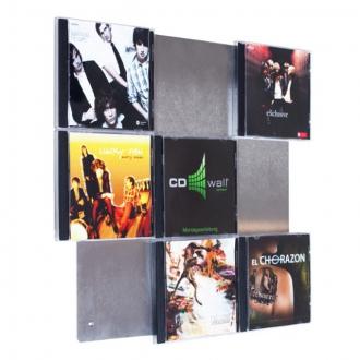 cd regale vom spezialisten cd wall tolles design. Black Bedroom Furniture Sets. Home Design Ideas